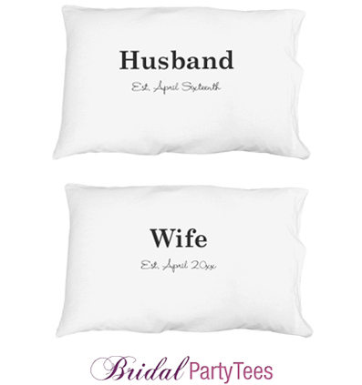 Custom Husband Pillowcase