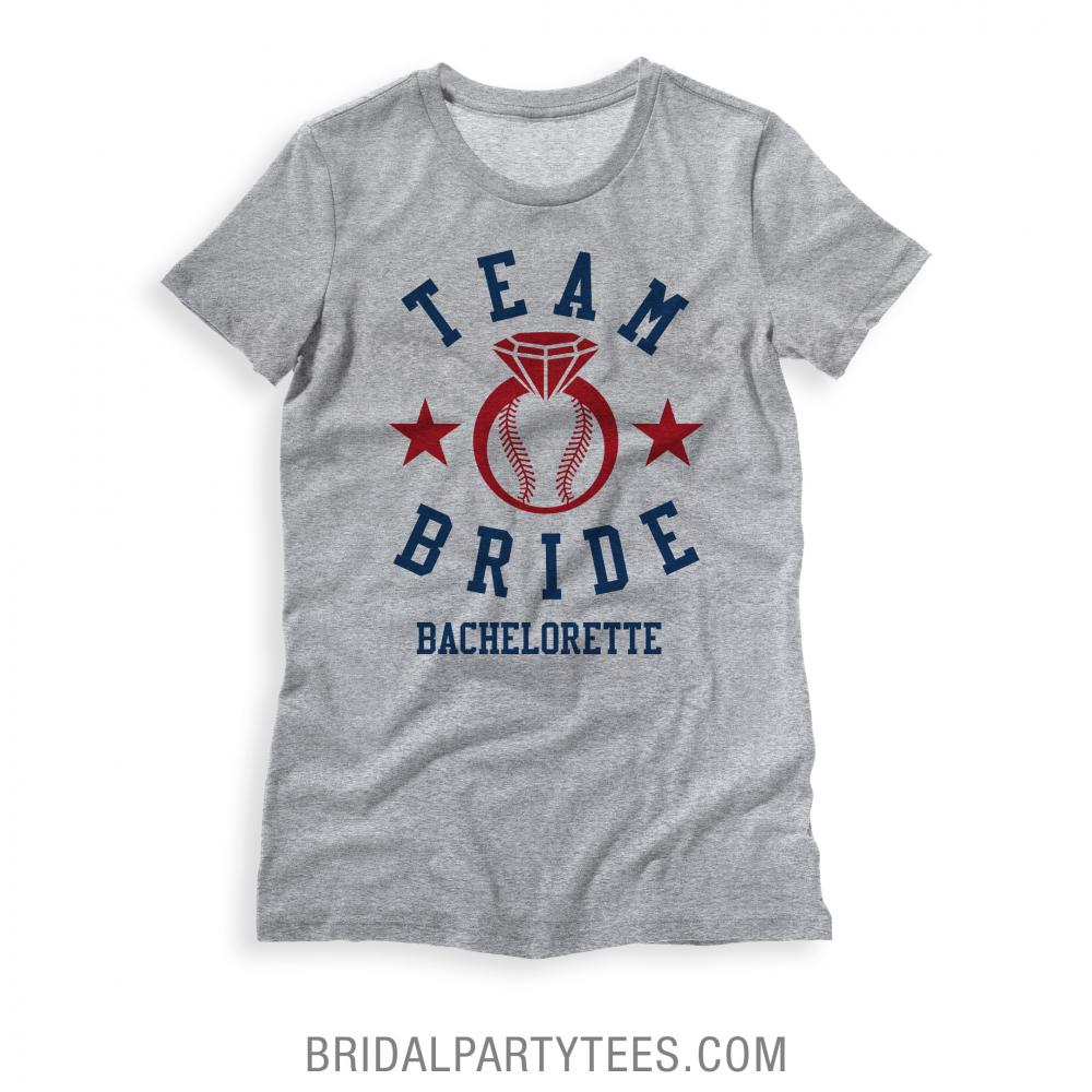 Team Bride Baseball Party
