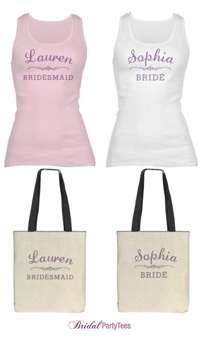 Bridesmaid Scroll Logo