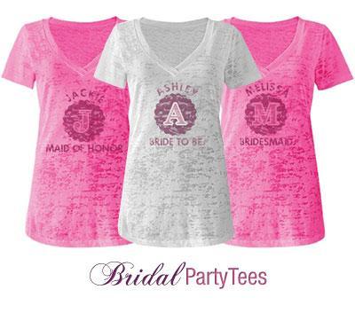 Bridesmaid Initial
