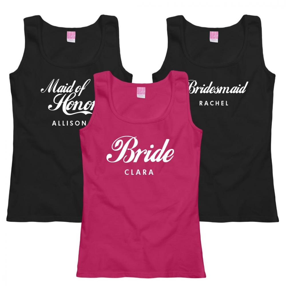 Custom Bridesmaid Script