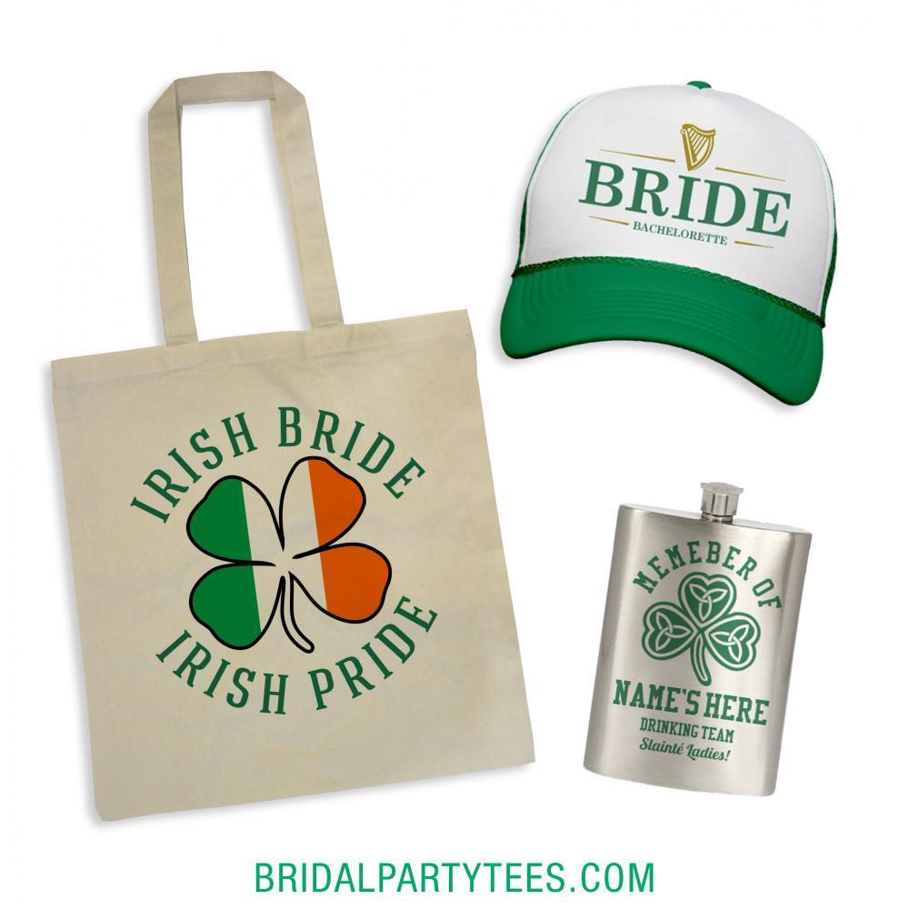 Irish Bride Irish Pride Gift Bag