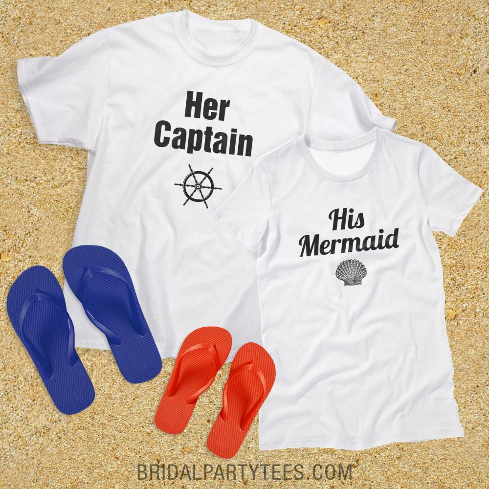 His And Hers Captain Mermaid