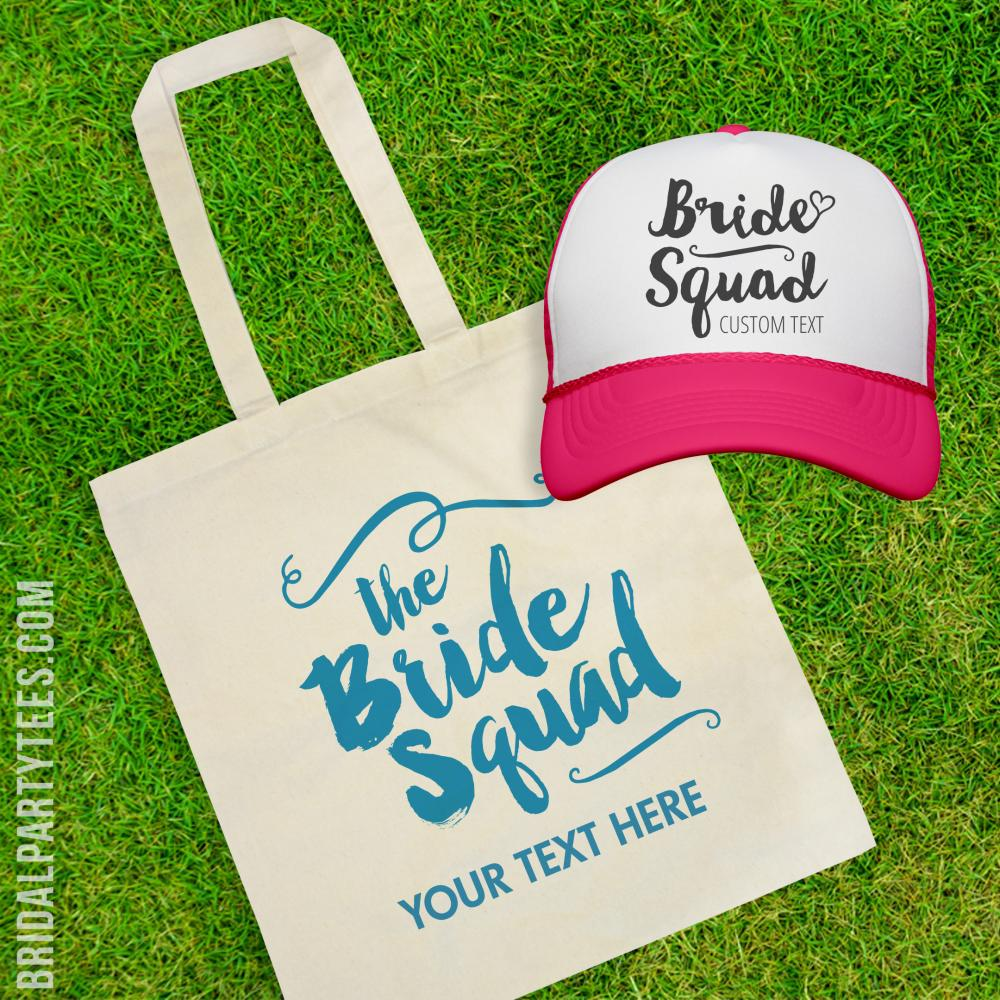 Snap Back Bride Squad Heart