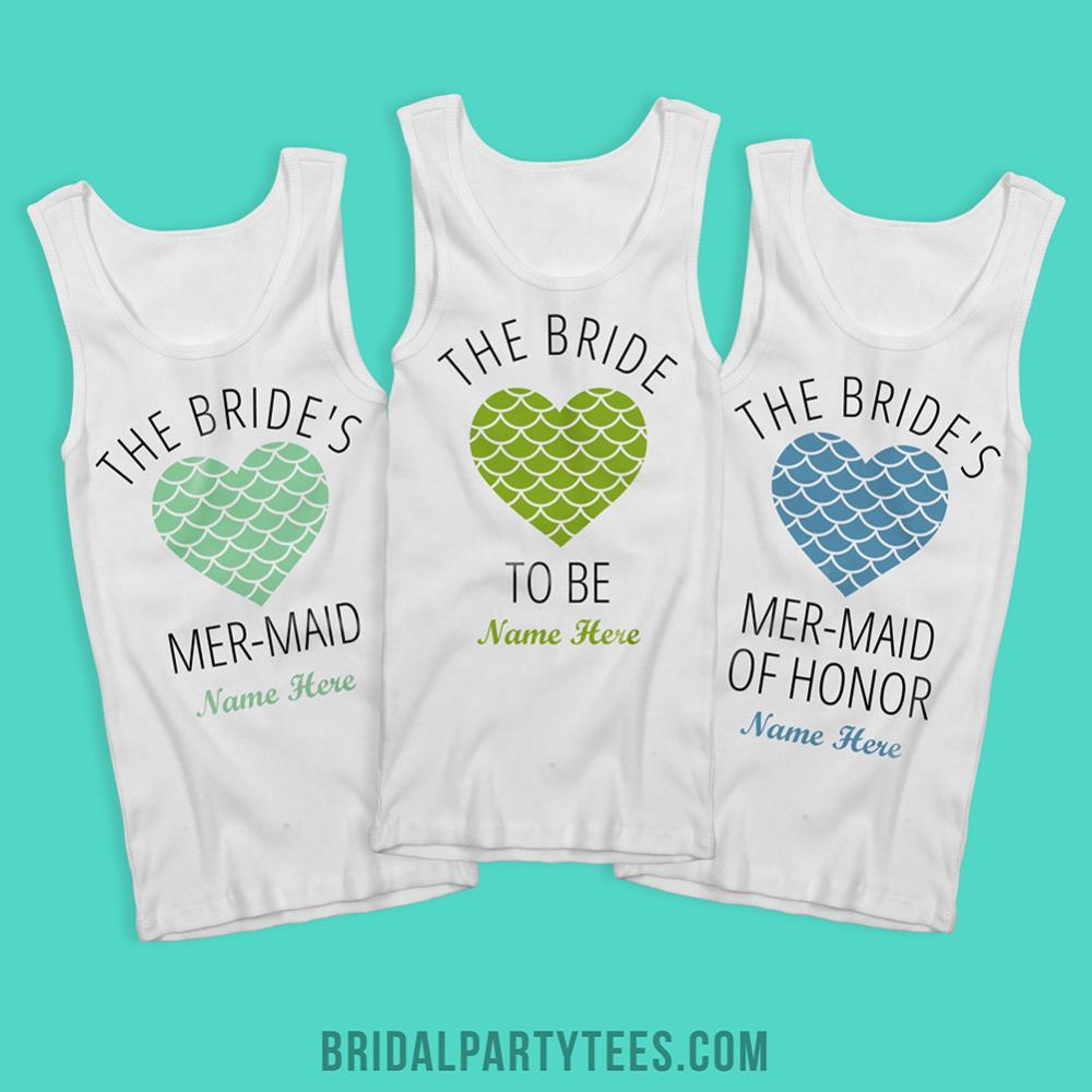 The Bride Mermaid Heart