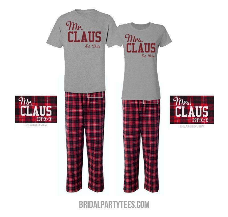 Mr & Mrs. Claus Custom Matching