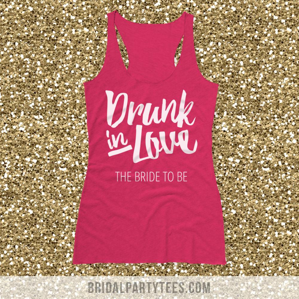 Custom Bride Drunk In Love