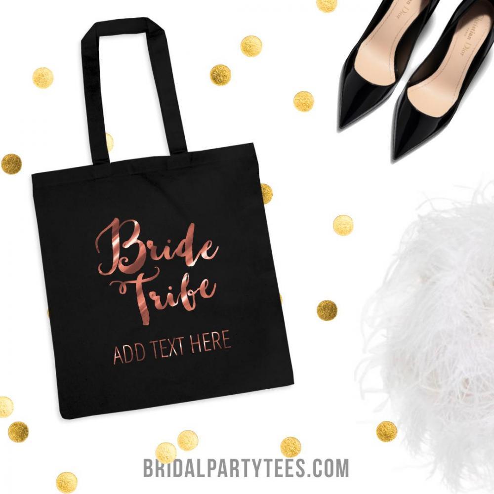 Metallic Custom Bride Tribe