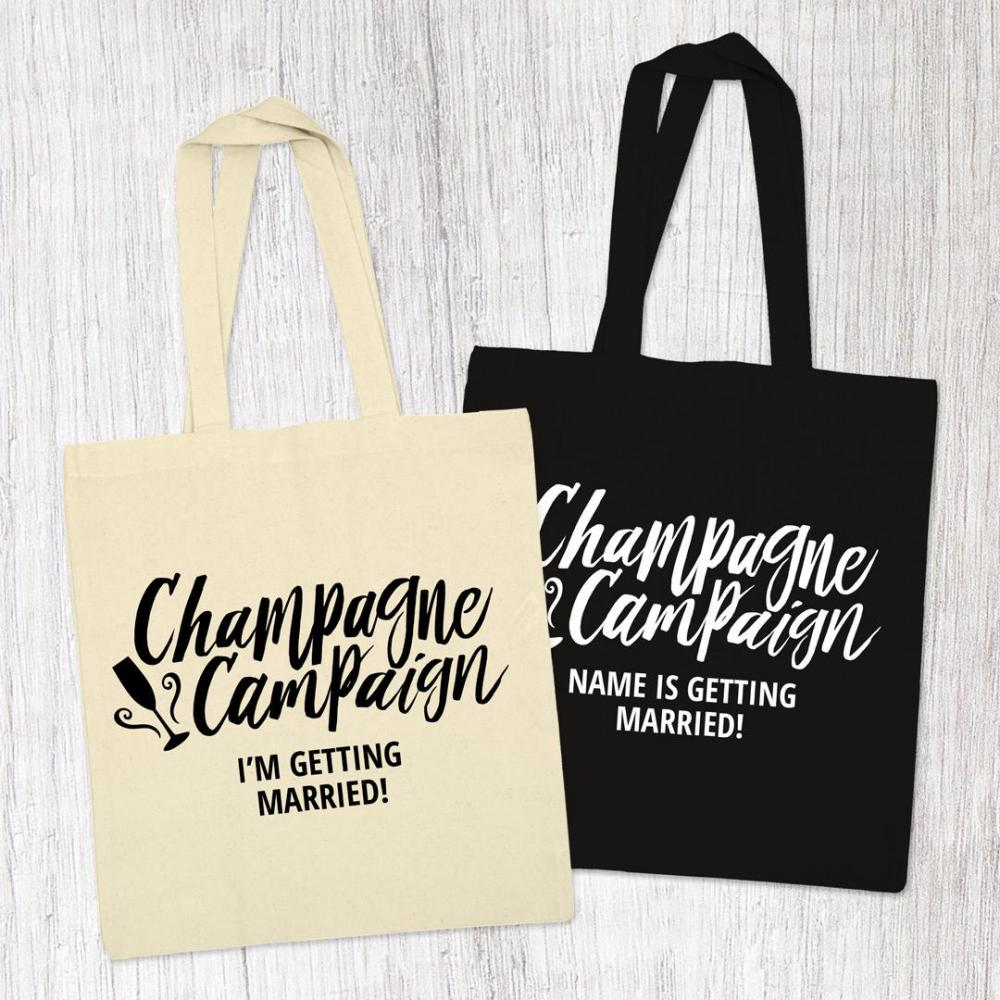 Customizable Champagne Campaign
