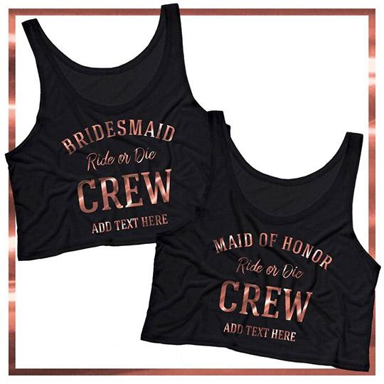 Bride Ride or Die Crew Copper