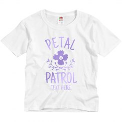 Petal Patrol Custom Flower Girl