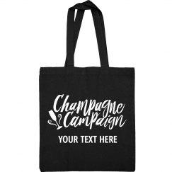 Champagne Campaign Custom Design