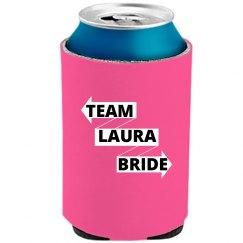 Team Bride Can Cooler