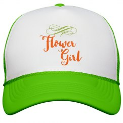 Flower Girl Trucker Hat