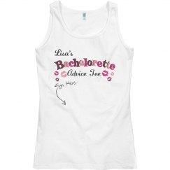 Bachelorette Advice Tee