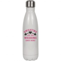 Sweating For Wedding Water bottle