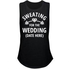 Sweating For Wedding Custom Fitness Tank