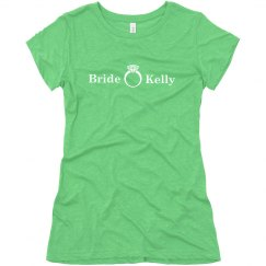 Bride Green Tee