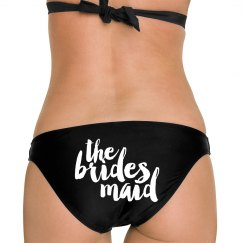 Bridesmaid Text Logo