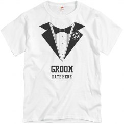 Groom Tuxedo Tee