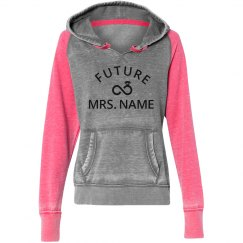 Future Mrs. Name Custom Hoodie