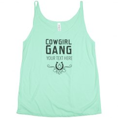 Bride's Cowgirl Gang