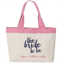 Bride tobe CanvasTote Bag