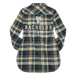 Plaid Bachelor Logo