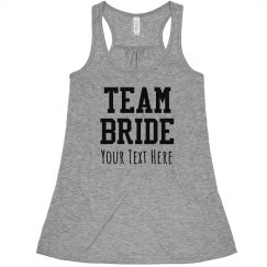 Custom Team Bride Fashion Tank
