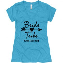 Bride Tribe V-Neck Shirt, bachelorette shirts