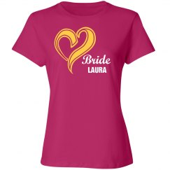 Pink Bride Cotton Tee