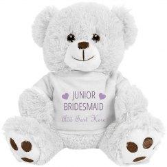 Custom Name Junior Bridesmaid