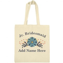 Custom Flower Jr. Bridesmaid Gift