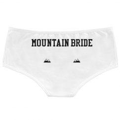 Mountain Bride undies