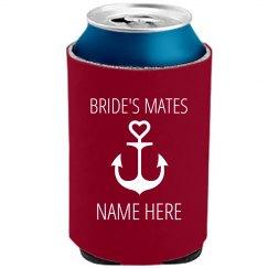 Bride's Mate Bachelorette Koozie