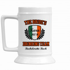 Irish Bachelorette Drinking Team