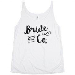 Bride and Co. Tank Team Bride