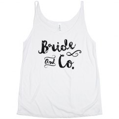 Bride and Co. Tank Team Bride