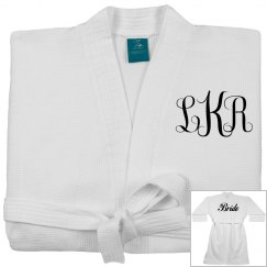 Personalized Monogram Bridal Robe