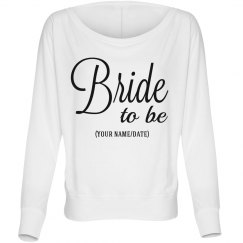 Bride to be Matching Custom Bridal Party Tee