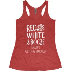 Red, White, Booze Bachelorette