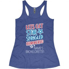 Red, White, Hammered Bachelorette