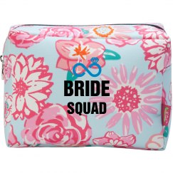 Bride Squad Cosmetic Makeup Bag