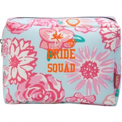 Bride Squad Cosmetic Makeup Bag