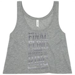 Customizable Metallic Final Fling