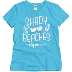 Shady Beaches Custom City Bachelorette