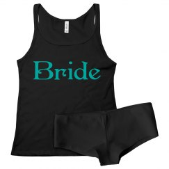 bride tank and panty