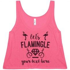 Neon Let's Flamingle Tonight