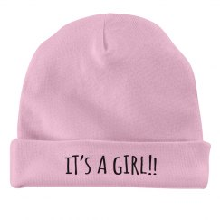 It's A Girl Hat