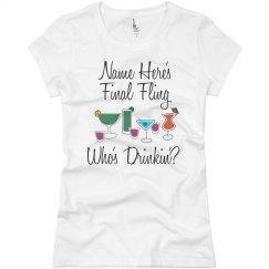 Who's Drinking Final Fling